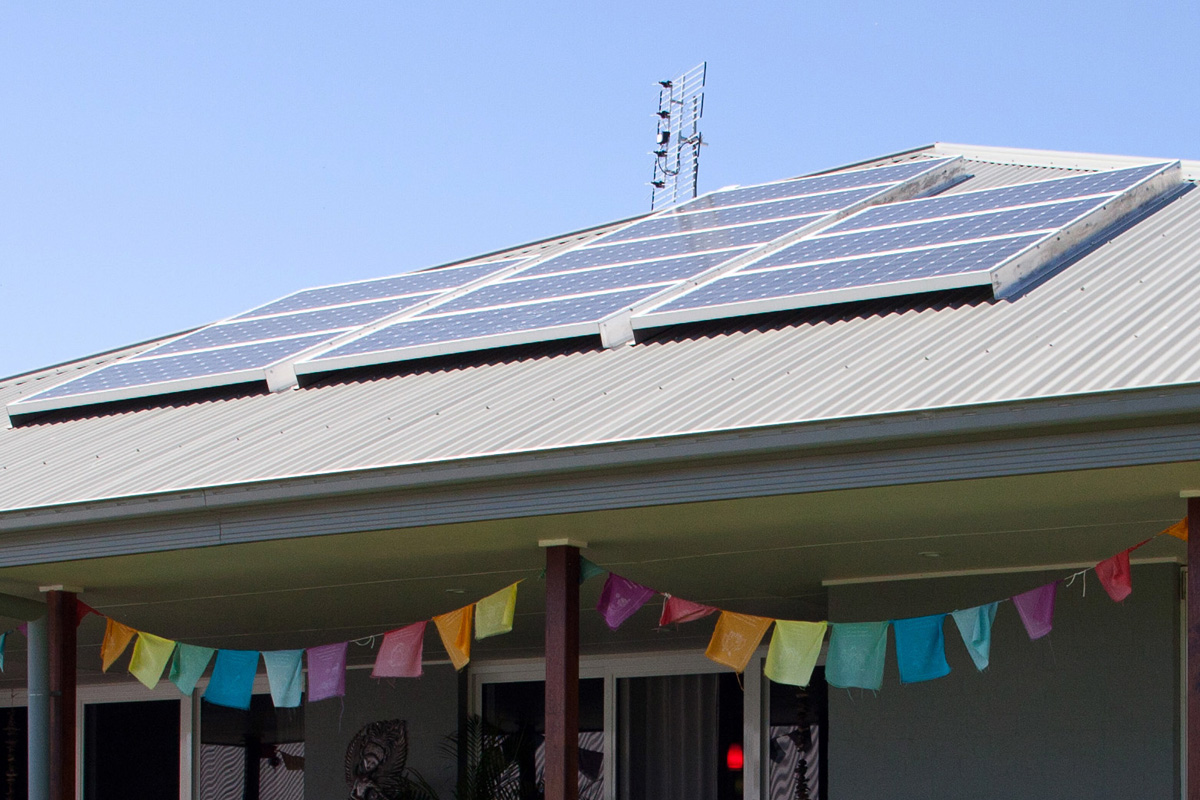 Solar panels, Milton, NSW