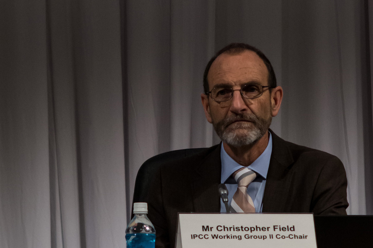 IPCC WGII Co-chair Chris Field