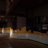 Lightpainting radiation in Japan