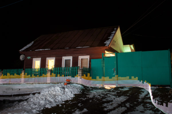 The home of Natalya Rueva (Наталья Руева) in the village of Staryy Vyshkov (Старый Вышков), Russia. 30 years after the 1986 Chernobyl nuclear disaster areas of the still-populated town remain concerningly contaminated, but despite being on the list for resettlement for decades, nothing has been done to move and protect the community. Greenpeace/Greg McNevin